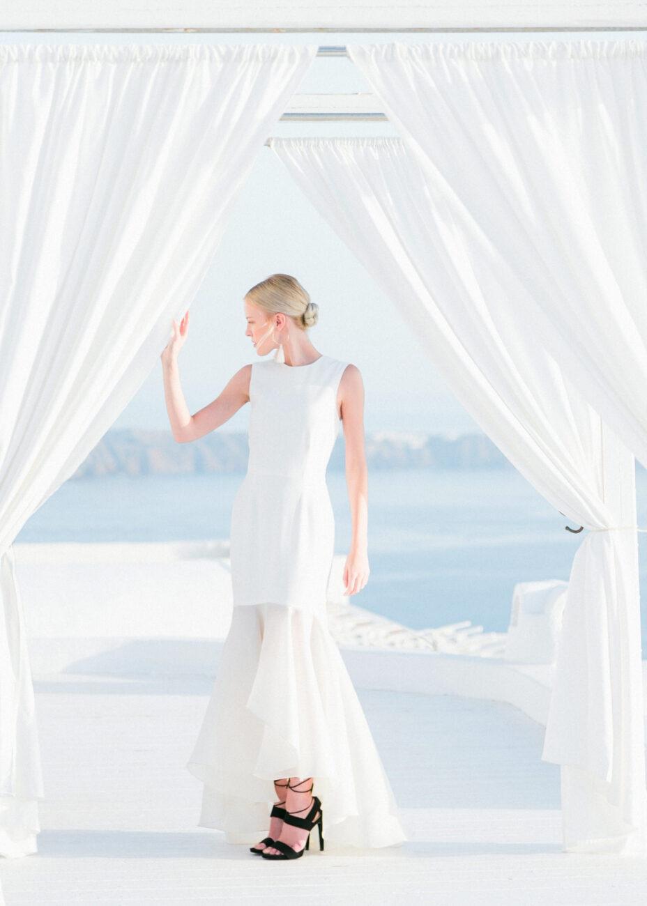 santorini bridal