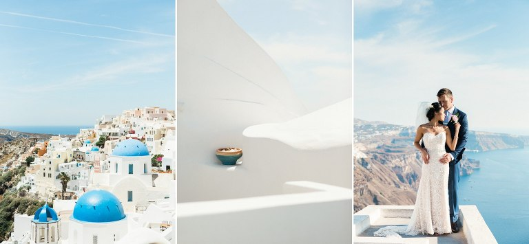 Santorini destination weddings