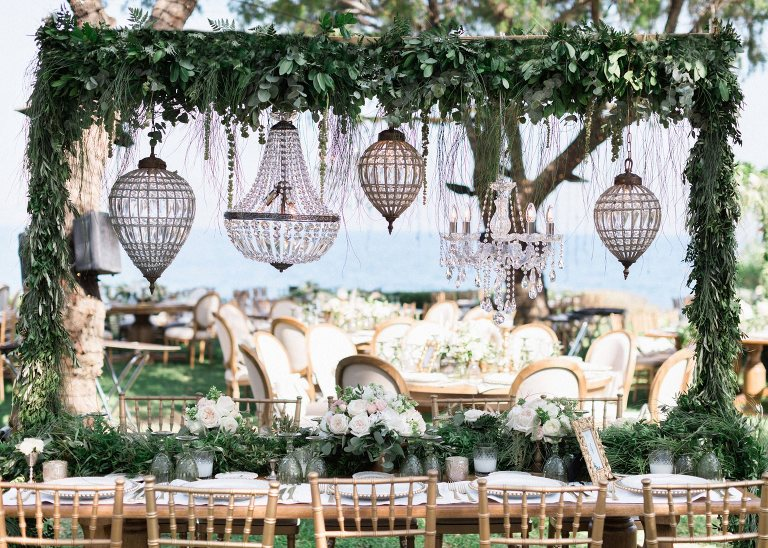 great gatsby athens riviera wedding